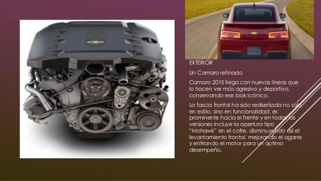 Circula tus expectativas Camaro SS Coupé viene con un motor V8 de 6.2 litros con 426 caballos de fuerza. Sus impresionante...