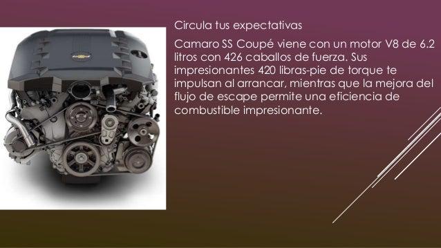 Controla tu destino Camaro viene cargado con transmisión manual Tremec de 6 velocidades, haciendo frente a algunos de los ...
