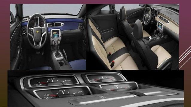 SEGURIDAD SEGURIDAD Controles de estabilidad y tracción Todo Camaro viene equipado con sistema antibloqueo de frenos y el ...
