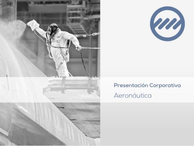 Presentación Corporativo  Aeronáutico