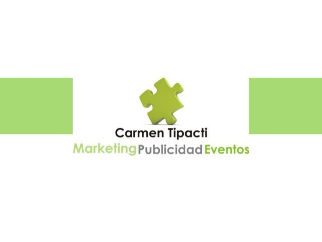 Directora en carmentipacti.com Consultora en Marketing digital Publicidad y Redes Sociales. Comparto temas relacionados al...