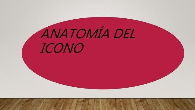 ANATOMÍA DEL ICONO