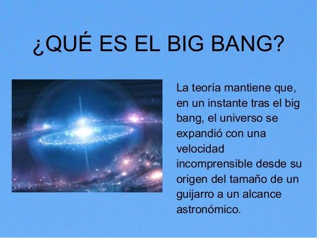 la teoria del big bang en que consiste trends fashions