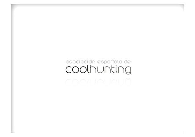 Presentación Asociación Española de Coolhunting Slide 3