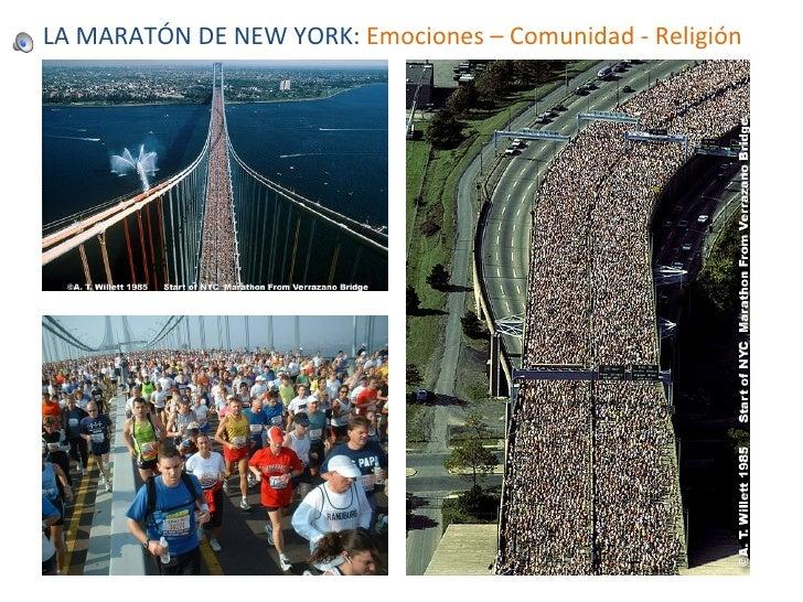 LA MARATÓN DE NEW YORK:  Emociones – Comunidad - Religión