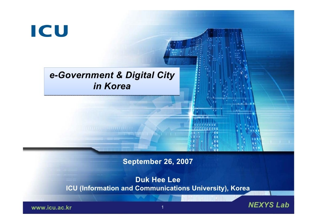 "LOGO     e-Governmentcompany slogan ""        "" Add your                   & Digital City            in Korea              ..."