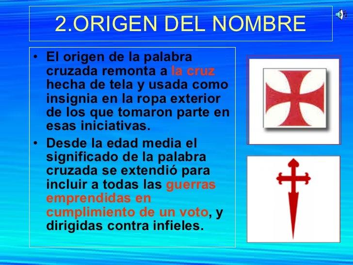 Las cruzadas for Significado de exterior