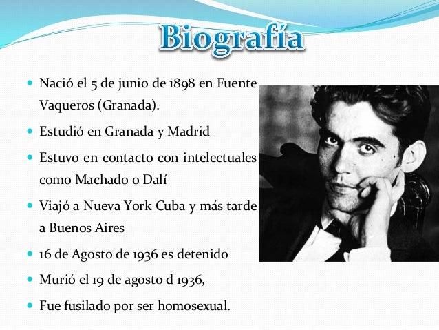 — Nació el 5 de junio de 1898 en Fuente Vaqueros (Granada).  — Estudió en Granada y Ma...