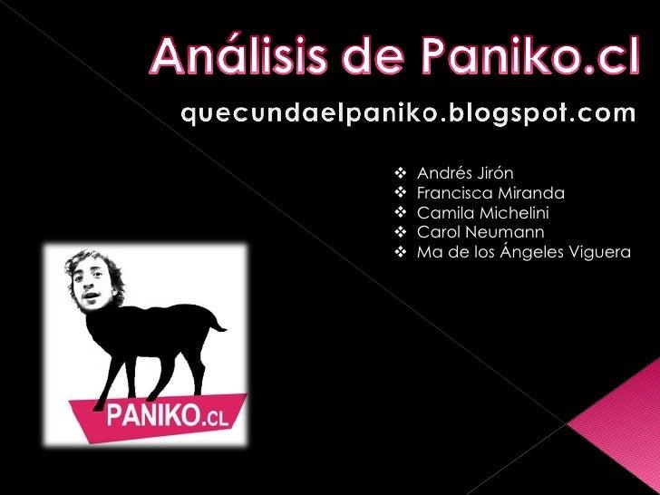 <ul><li>Andrés Jirón </li></ul><ul><li>Francisca Miranda </li></ul><ul><li>Camila Michelini </li></ul><ul><li>Carol Neuman...