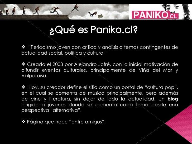 Presentación Grupo Paniko Slide 2