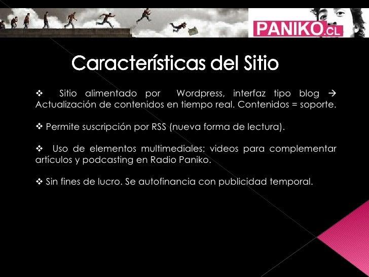 Presentación Grupo Paniko Slide 3