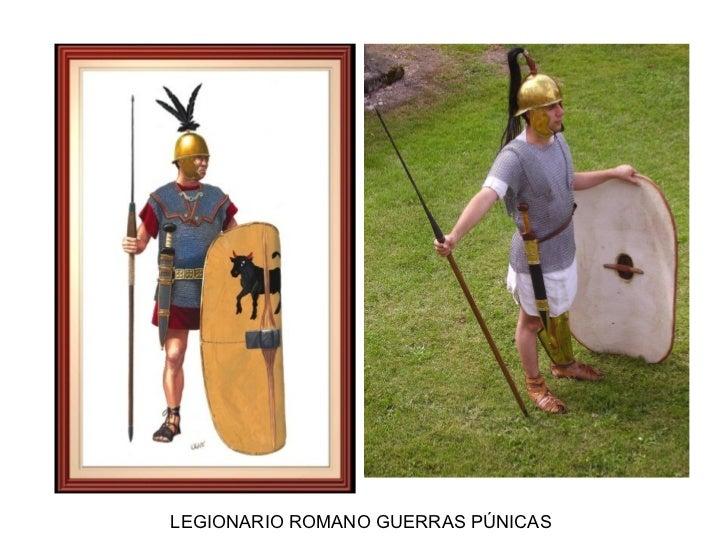 LEGIONARIO ROMANO GUERRAS PÚNICAS