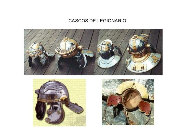 CASCOS DE LEGIONARIO