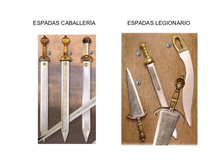 ESPADAS CABALLERÍA ESPADAS LEGIONARIO
