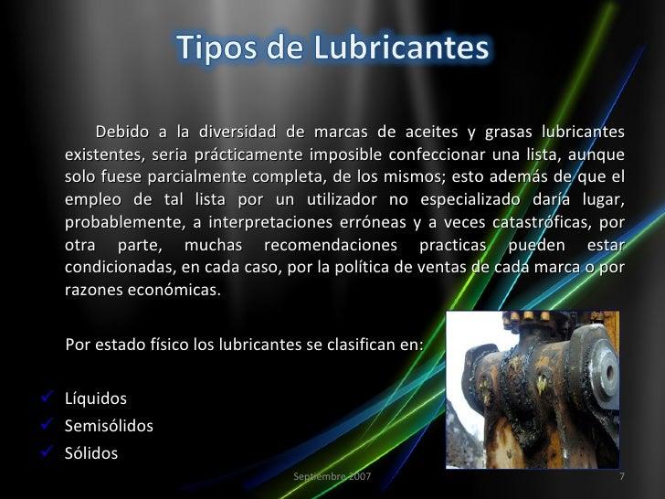 Ventajas y desventajas de los lubricantes sólidos