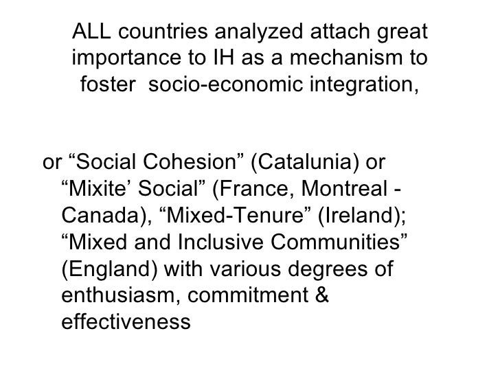 social and spatial exclusion in canada Social exclusion cannot be studied without also looking at spatial segregation and exclusion • 3 different dimensions of social exclusion o economic exclusion - lack of access to employment and long-term exclusion from the labor market leads to an absence of resources, opportunity for production, and consumption.