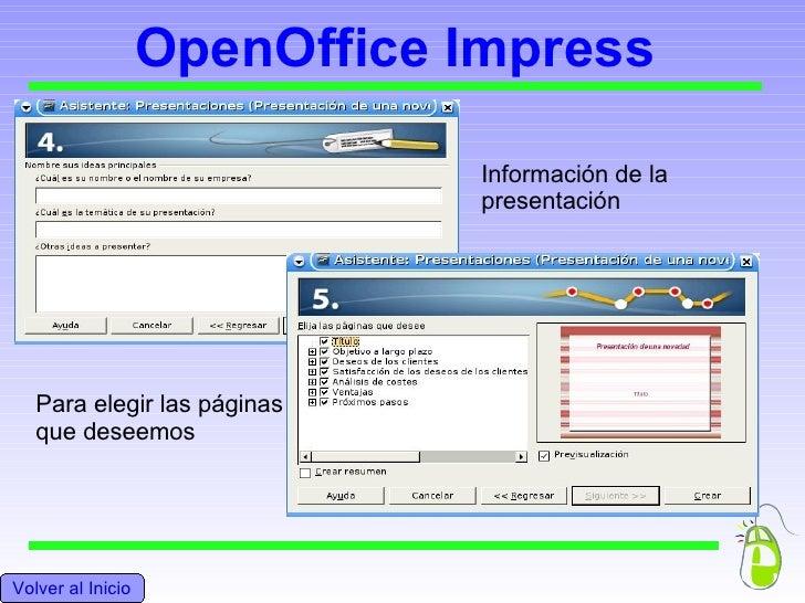 how to open oo impress