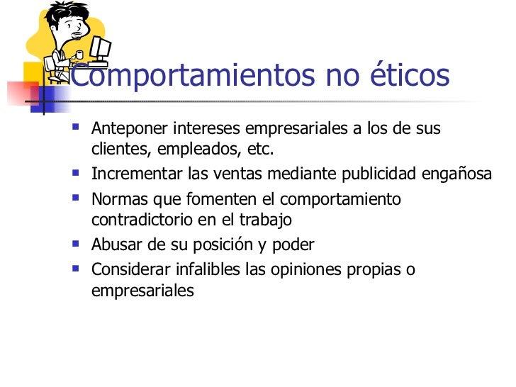 La etica en el ambiente del trabajo for Cuales son las caracteristicas de la oficina