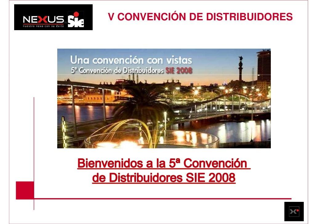 V CONVENCIÓN DE DISTRIBUIDORES