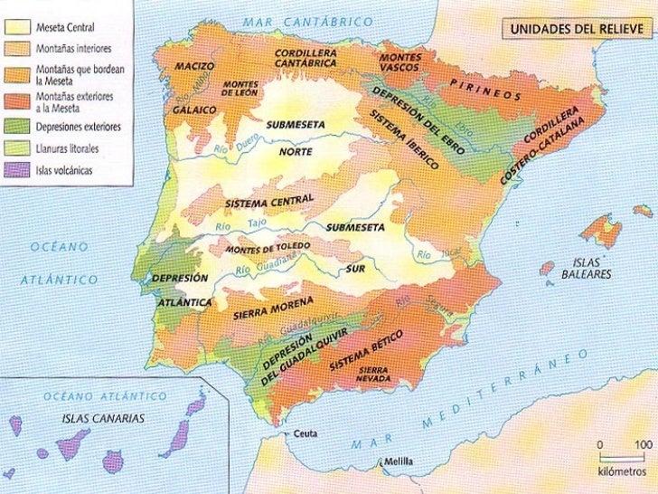 El relieve español Slide 3