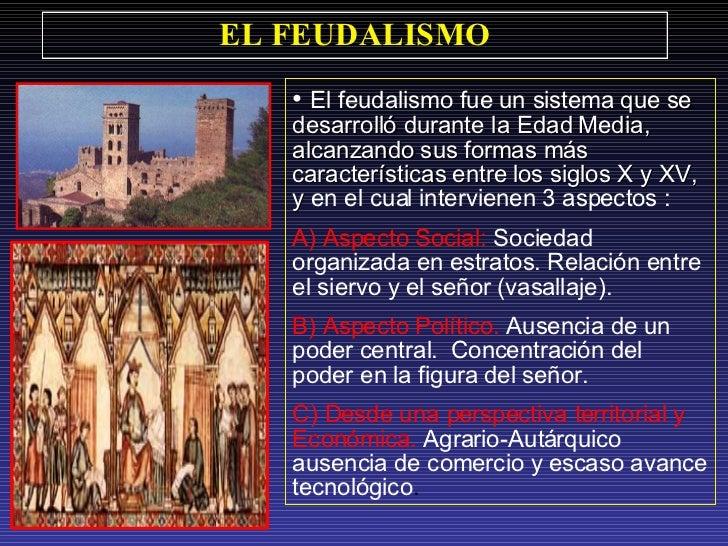 El Feudalismo. Slide 2