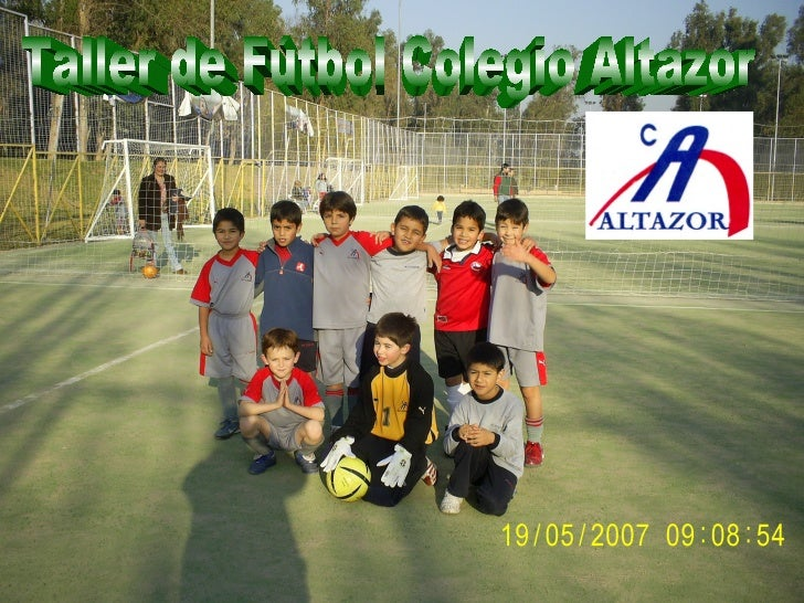 Taller de Fútbol Colegio Altazor