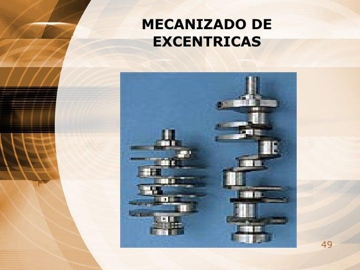 MECANIZADO DE EXCENTRICAS
