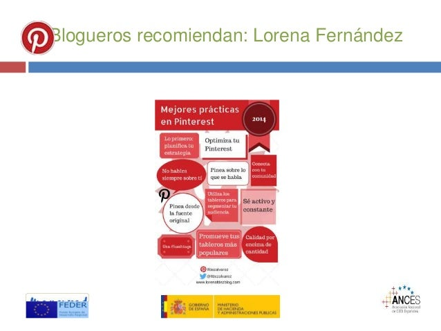 Blogueros recomiendan: Lorena Fernández