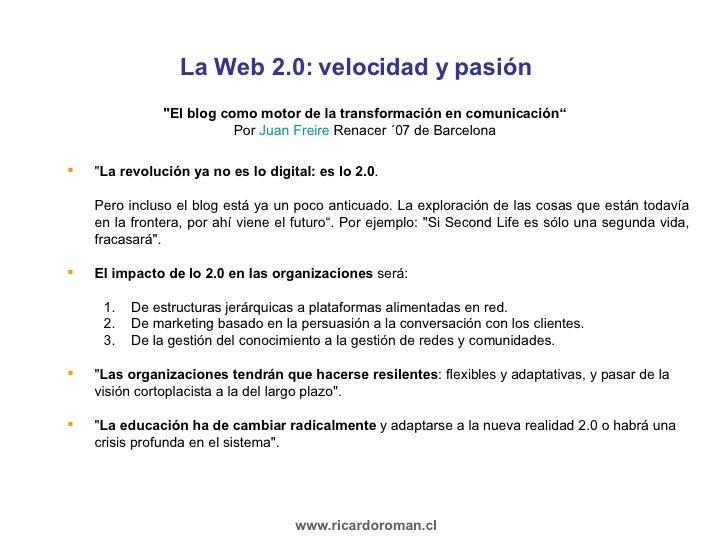 Presentación Web 2.0  Slide 3