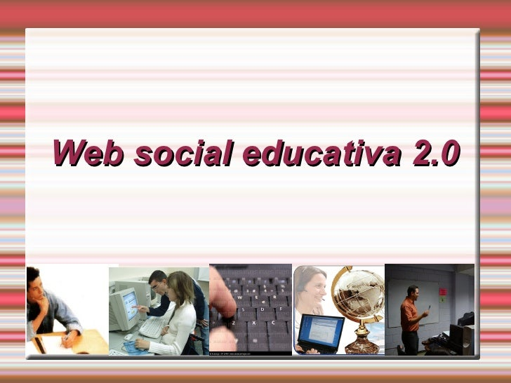 Web social educativa 2.0