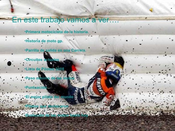 historia del motociclismo Slide 2