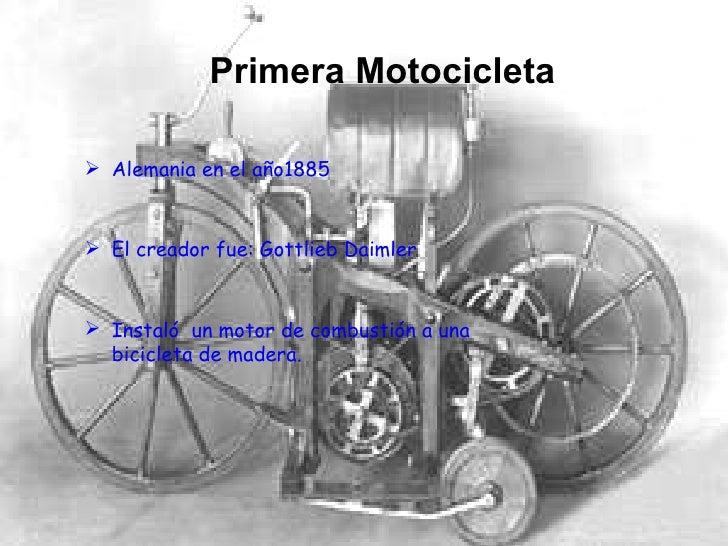 historia del motociclismo Slide 3
