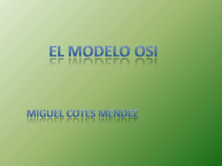 El Modelo de Referencia de Interconexión de Sistemas Abiertos, es conocido en el mundo como Modelo OSI (Open System Interc...