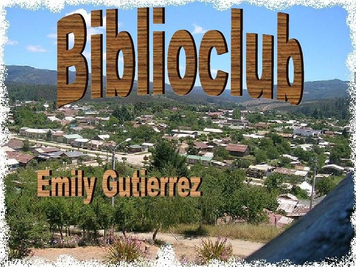 Biblioclub Emily Gutierrez