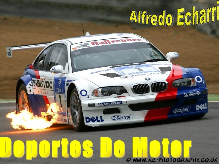 Deportes De Motor Alfredo Echarri