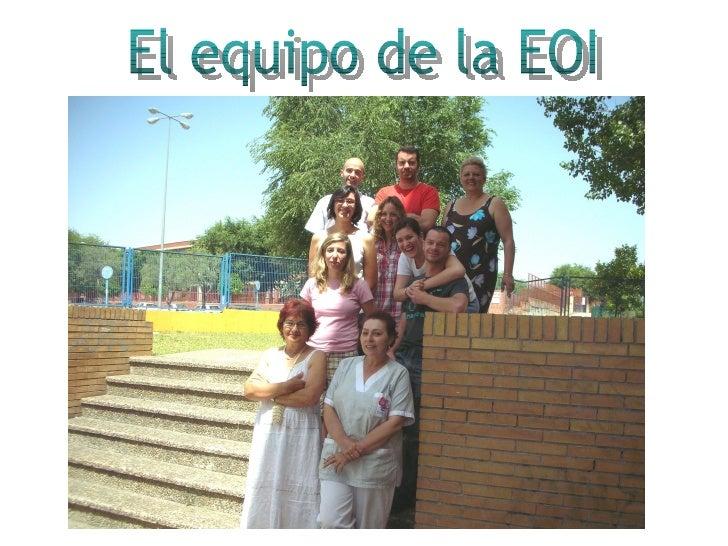 El equipo de la EOI