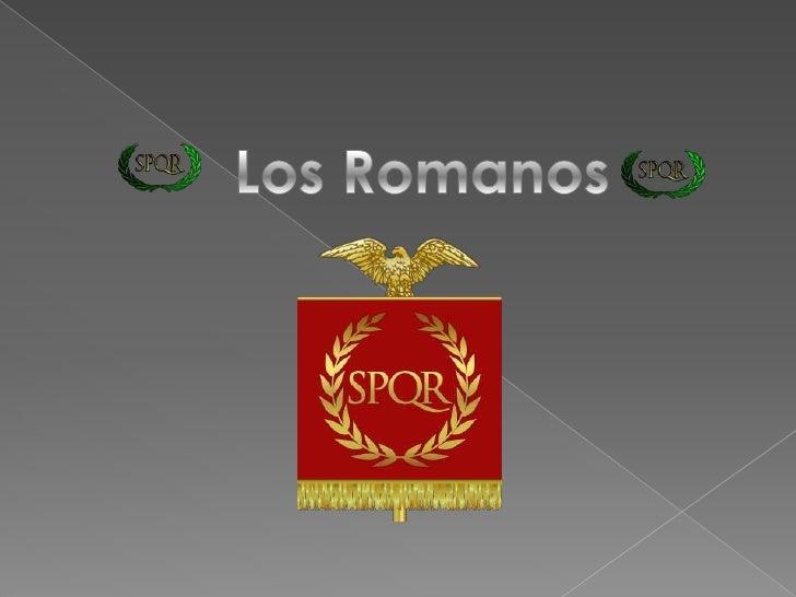 Los Romanos<br />
