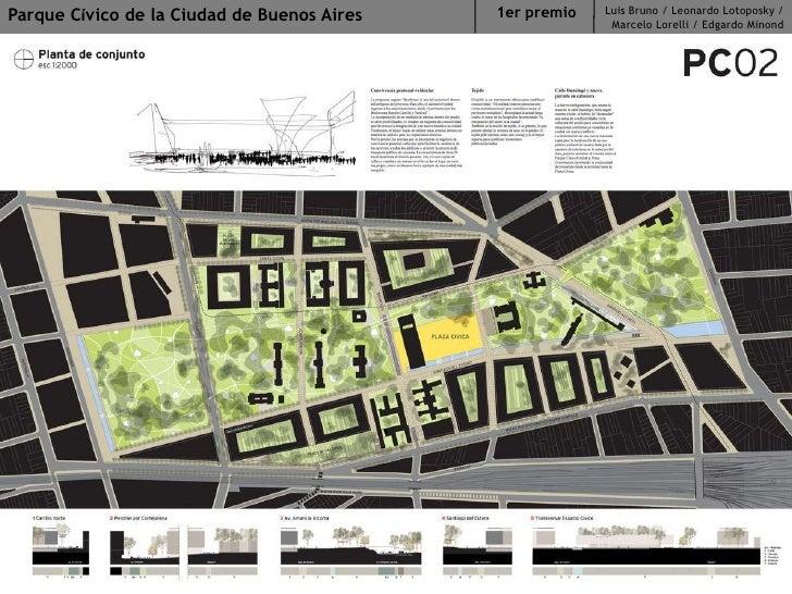 Parque Cívico de la Ciudad de Buenos Aires<br />Luis Bruno / Leonardo Lotoposky / Marcelo Lorelli / Edgardo Minond<br />1e...