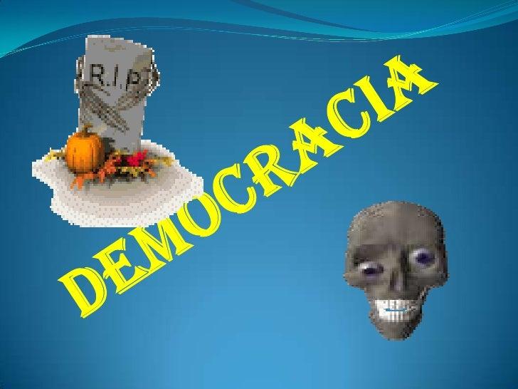 democracia<br />