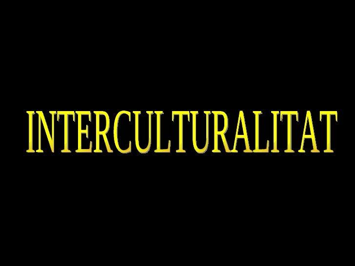 INTERCULTURALITAT