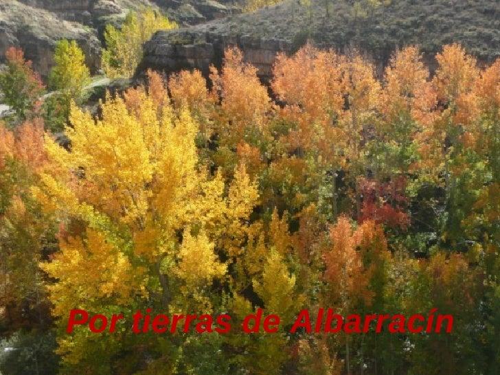 Por tierras de Albarracín