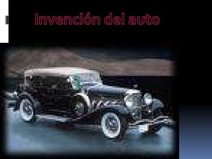 Invención del auto <br />