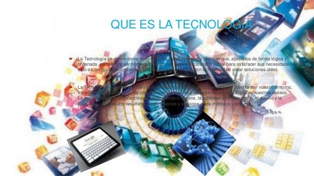la informatica y tecnologia