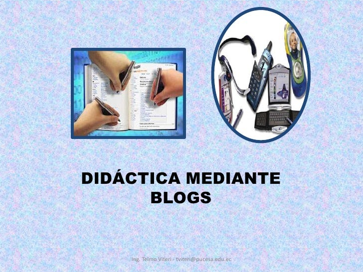 EDUCACION Y BLOGS