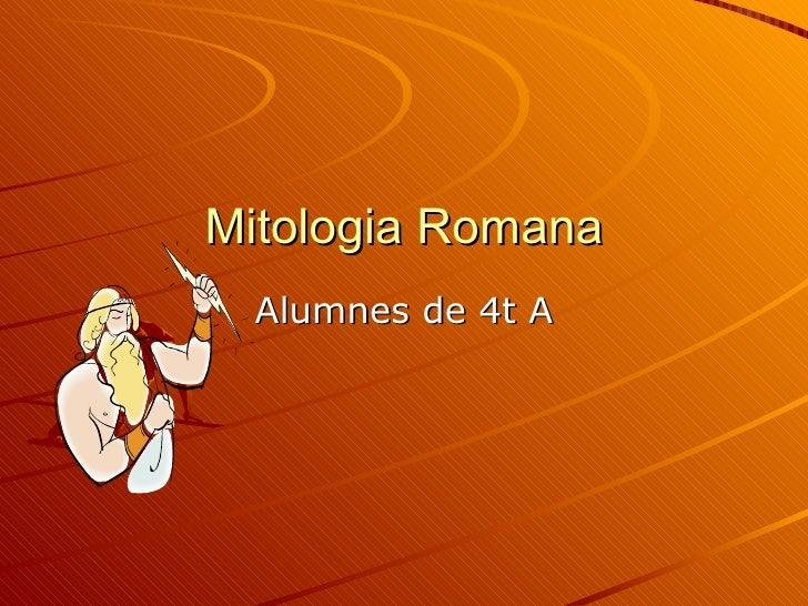 Mitologia Romana Alumnes de 4t A
