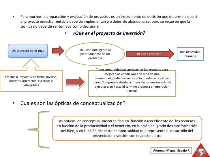 Para muchos la preparación y evaluación de proyectos es un instrumento de decisión que determina que si el proyecto muestr...