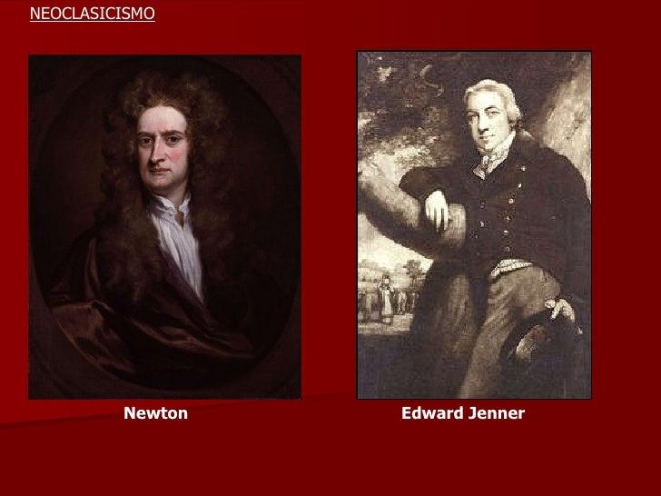 Newton Edward Jenner NEOCLASICISMO
