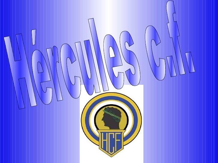 Hércules c.f.