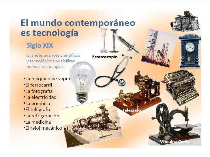 Avances Tecnolgicos Avances Tecnologicos Siglo Xix Y Xxx
