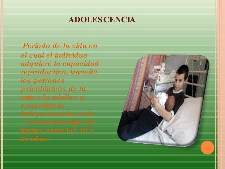 Embarazo en la adolescencia Slide 2